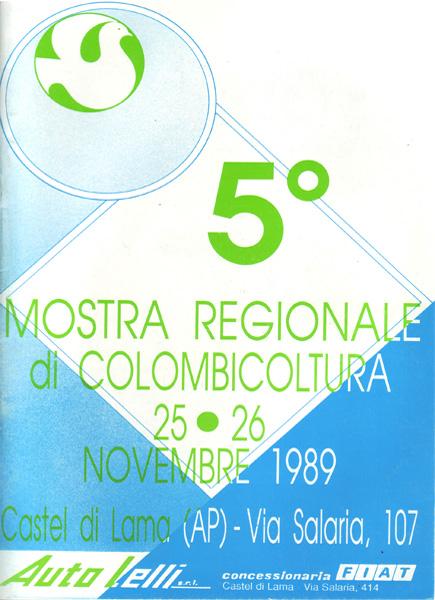 5^ Mostra Regionale di Colombicoltura