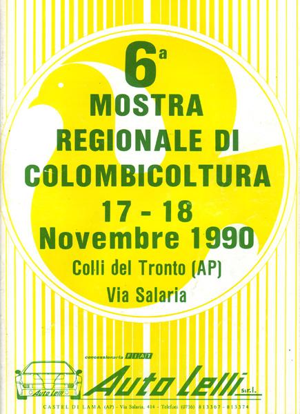6^ Mostra Regionale di Colombicoltura